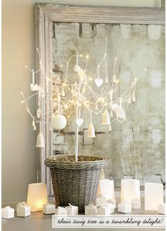 Christmas tree, natur