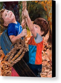 They'll Be Tired By Marilyn Nolan- Johnson Canvas Print by Marilyn Nolan-Johnson.  All canvas prints are professionally printed, assembled, and shipped within 3 - 4 business days and delivered ready-to-hang on your wall. Choose from multiple print sizes, border colors, and canvas materials.