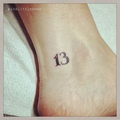 Image result for 13 tattoo