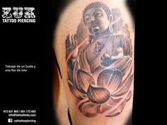 Resultado de imagen para tatuajes budas con flor de loto