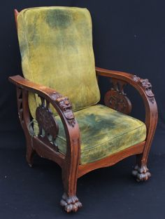 Morris Chairs For Sale Office Chair Support Cushion 119 Best Antique Images Photo 2 Carved Oak Auctions Victorian Furniture Table