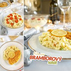 Fitness bramborový salát - zdravý recept Bajola Cooking Recipes, Healthy Recipes, Clean Eating, Food And Drink, Low Carb, Breakfast, Christmas, Morning Coffee, Xmas
