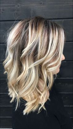 40 Most Stunning and Fashion Hairstyle for Medium Lenth Hair for This Year - Pag. 40 Most Stunning Medium Lenth Hair, Medium Length Hair Blonde, Boliage Hair, Medium Hair Styles, Curly Hair Styles, Ombré Hair, Ash Hair, Ombre Hair Color, Blonde Fall Hair Color