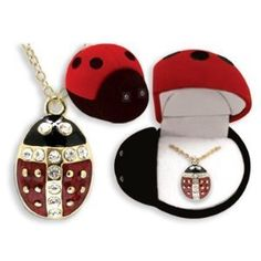 There are certain products that are simply adorable and can be given as gifts to women of all ages. One such product that you can consider when it comes to that is the Ladybug Crystal Pendant Necklace In Gift Box, which is a product preferred by most grandmothers, mothers, daughters, and aunts.