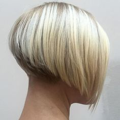 Cute, I would have it a little longer in front for a more exaggerated inverted bob!