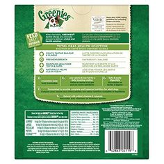 GREENIES Dental Dog Treats, Regular, Original Flavor, 27 Treats, 27 oz.   Check it out-->  http://mypets.us/product/greenies-dental-dog-treats-regular-original-flavor-27-treats-27-oz/  #pet #food #bed #supplies
