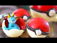How to make chocolate Poké Ball treats with Pokemon toys inside is perfect for any awesome Pokemon themed party or event! The surprise of not knowing what yo...