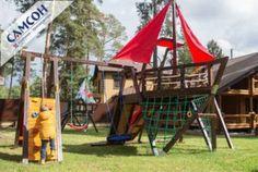 Детская спортивно-игровая деревянная площадка-корабль Самсон «Каравелла»