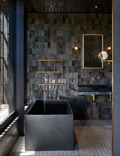 art design A stunning clifftop home on Waiheke wins Best Interior at Home of the Year Bathroom Interior Design, Decor Interior Design, Interior Decorating, Decorating Games, Decorating Websites, Design Websites, Interior Ideas, Interior Inspiration, Minimal Bathroom