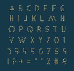 Metria Free Display Font // Free Download by Jake Lunde, via Behance