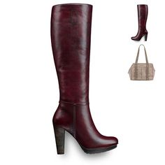 Brown. Leather. Yummy. Long Boots, Dream Shoes, Euro, Heeled Boots, Brown Leather, Heels, Stuff To Buy, Fashion, Fall Winter