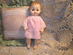 Horsman Straight Body Rubber Baby Doll by Daysgonebytreasures, $25.00