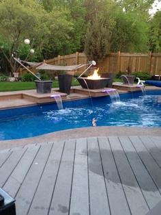 Swiming pool heaven for Gartenpool eingebaut