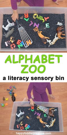 Alphabet Zoo - HAPPY TODDLER PLAYTIME