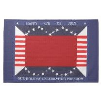 kitchen towel by Kristie Hubler for 4th of July