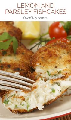 Lemon and Parsley Fishcakes -  These lemon and parsley fishcakes are not only easier to make than you think, but they taste so much better than shop bought ones.Try them for dinner tonight.