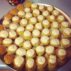 Brown Butter Pumpkin Cupcakes. Use GF substitutions