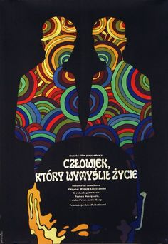 Jacek Neugebauer, The Man Who Thought Life, Polish Movie Poster, 1970