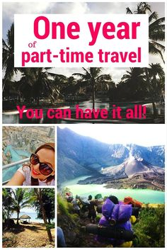 Fall in love with part-time travel - While I'm Young & Skinny
