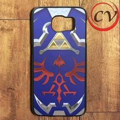 Zelda Link Hyrule Shield Samsung Galaxy S7 Edge Case
