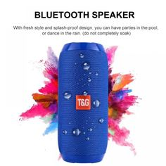 Portable Audio Video - Waterproof Bluetooth Speaker Portable outdoor Rechargeable Wireless Speakers Soundbar Subwoofer Loudspeaker TF Built-in Mic Computer & Electronic Equipment Waterproof Bluetooth Speaker, Bluetooth Speakers, Portable Speakers, Outdoor Speakers, Smartwatch, Usb, Audio Crossover, Loudspeaker Enclosure, Mini