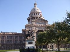 Austin TX State Capitol Building, August, 2012