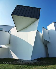 Frank Gehry building at the Vitra design museum -