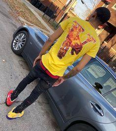 Teen Boy Fashion, Tomboy Fashion, Men's Fashion, Swag Outfits Men, Dope Outfits, Black Men Street Fashion, Thug Style, Black Relationship Goals, Fresh Outfits