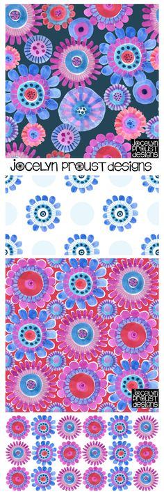 Jocelyn Proust Designs surface pattern design