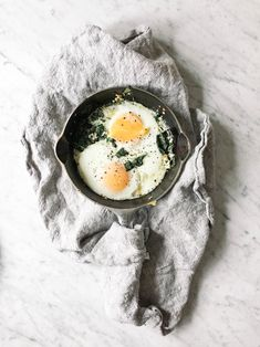 baked eggs | wit & delight