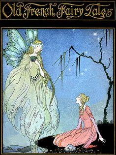 Deco French Fairy Tales-Book Cover-Virginia Sterrett