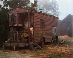 """I'd love to take to the road and explore the U.S. in a unique wooden """"Rolling Home"""" (converted bus or truck ... see book by Jane Lidz). Must have some gypsy blood."""
