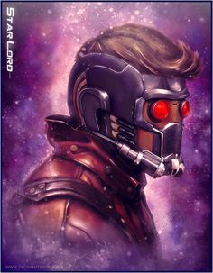 Fashion and Action: Star-Lord 'Guardians of the Galaxy' Art Gallery by zack smithson