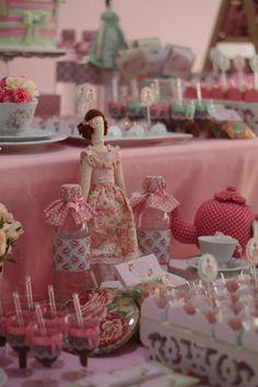 Tilda´s tea party Birthday Party Ideas | Photo 9 of 29 | Catch My Party