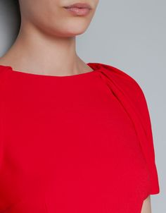 PUFF SLEEVE DRESS - Dresses - Woman - ZARA
