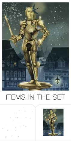 """""""The Happy Prince"""" by kateduvall ❤ liked on Polyvore featuring art and vintage"""