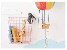 Clever! Pillowfort Decorative Wall Hanging #Basket | #ad