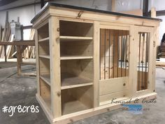 Custom design your kennel with Kennel & Crate today. You and your pups should not have to settle for an ordinary store bough WIRE KENNEL! Check out our gallery of kennels and start designing yours today!