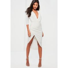 White Dress Wrap Style cdc131999