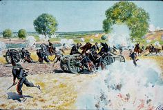 French Artillery at the Battle of Wissembourg 1870