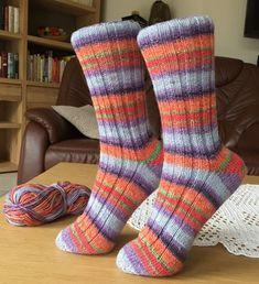Socken stricken / Marys Sockenparade