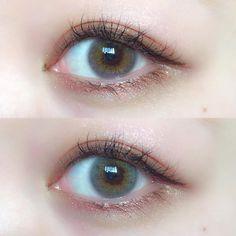 〈2019サマーメイク〉今年の夏はトレンドヌード顔で、太陽も味方のすっぴん風に♡| したいが見つかる、流行先取りメディア【Petrel(ペトレル)】 Cute Makeup, Beauty Makeup, Makeup Looks, Korea Makeup, Aesthetic Eyes, Colored Contacts, Summer Makeup, How To Make Hair, Cool Eyes