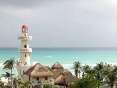 Playa del Carmen - cielo en el mar.