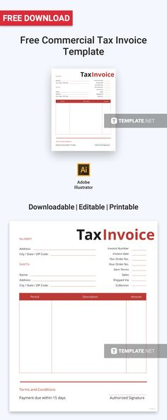 Free Commercial Photography Invoice Commercial and Template - tax invoice