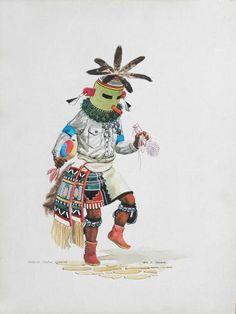 """""""Kahaila - Turtle Kachina"""""""