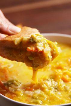 Broccoli Cheddar Soup  - Delish.com