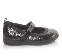 Every little girl needs sparkle in her life. #kids #style #ideas #baby #shoes #glitter #holiday