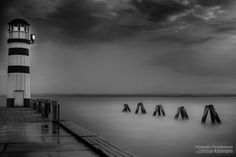 Photo Workshop Neusiedlersee by. lake beauty water nature clouds lighthouse summer black and white port rain clouds photo workshop Au Places Around The World, Around The Worlds, Beauty Water, Cloud Photos, Rain Clouds, Wonderful Places, Amazing Places, Workshop, Sea Shells