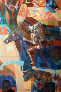 Guerra e Paz do Portinari em São Paulo - artes visuais - desenho - pintura - escultura