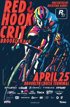 RedHookCrit Poster art by Gianluca Fallone